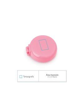 Pastillero con tres compartimientos Pill Box 3 - Transparente