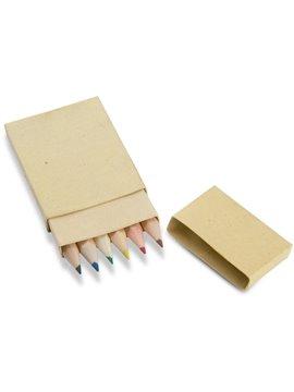 Caja de Colores Eco en caja de Carton Reciclado - Natural