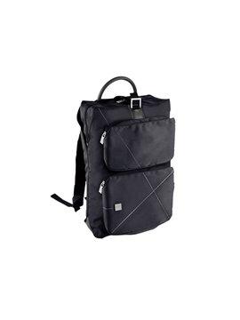 Morral Maletin Backpack Urban Poliester 300D - Negro