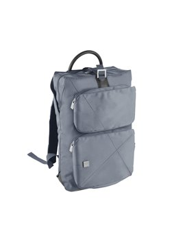 Morral Maletin Backpack Urban Poliester 300D - Gris