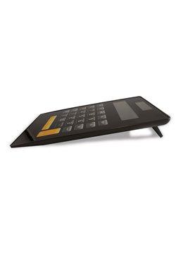 Calculadora con Doble Fuente de Energia Teclado Virtual - Negro