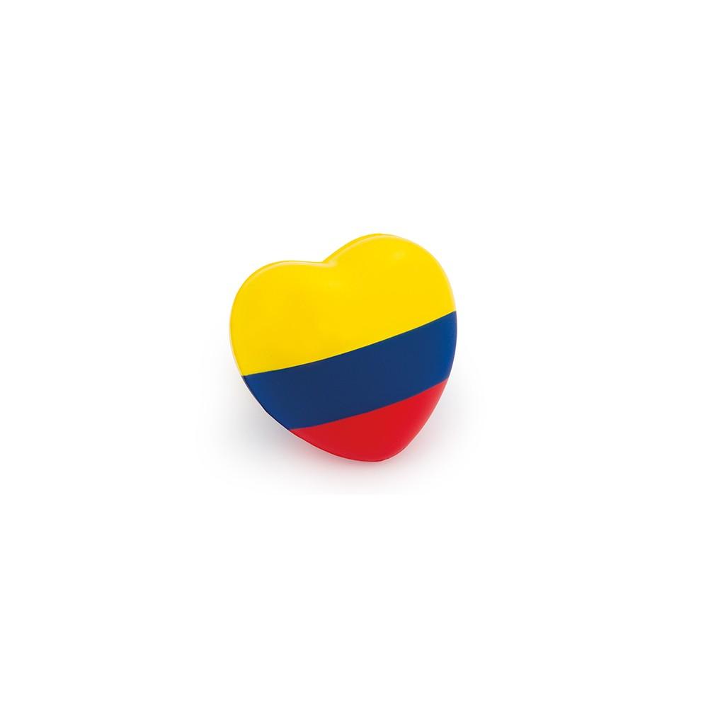 Antiestres Corazon Tricolor Desestresante