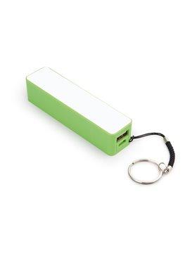 Bateria Externa iPhone Samsung Camaras MP3 Llavero - Verde Limon