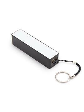 Bateria Externa iPhone Samsung Camaras MP3 Llavero - Negro