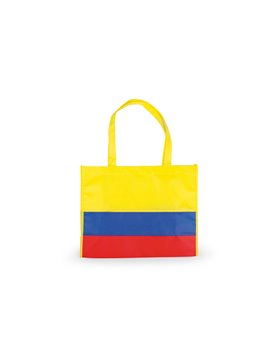 Bolsa Paris tipo shopping con fuelle doble cargadera corta - Tricolor