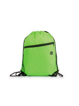 Bolsa Tula Mochila Liam con cordon para ajustar y cargar - Verde Limon