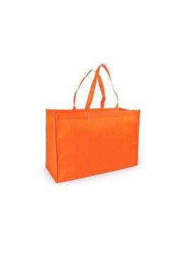 Bolso plegable Tiff Bag con cordon para facil agarre - Naranja