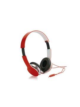 Audifonos Auriculares Plegables Stream control volumen - Rojo