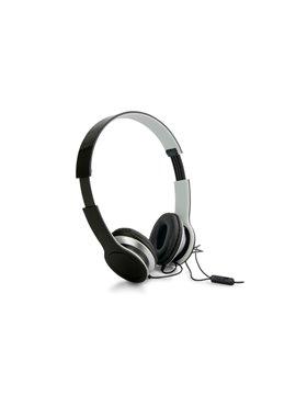 Audifonos Auriculares Plegables Stream control volumen - Negro