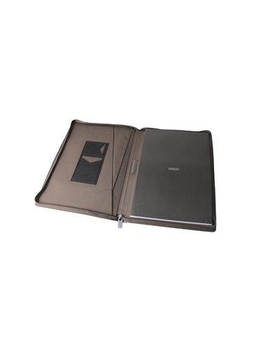 Carpeta Folder En Poliester A4 Lexon 2 Bolsillos Internos - Rojo