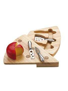Set De Utensilios Para Cortar Queso Swiss - Cafe
