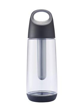 Termo Botella Botilito Coolbopp 700Ml Tubo Enfriador - Gris
