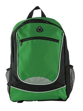 Maleta Morral Backpack Tahoe Cierre En Cremallera - Verde