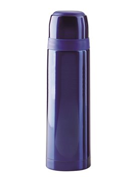 Botella Termo Zeus 500 Mls Doble Pared Tapa Rosca - Azul