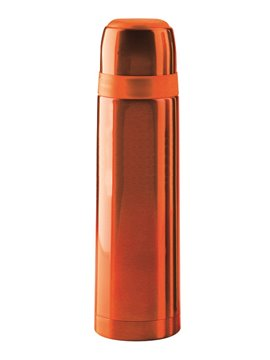 Botella Termo Zeus 500 Mls Doble Pared Tapa Rosca - Naranja