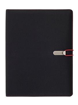 Carpeta String Con Calculadora Interna Cierre Elastico - Rojo
