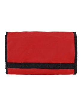 Bolsa Tula Shopping Bag Plegable En Velcro Con Agarraderas - Rojo