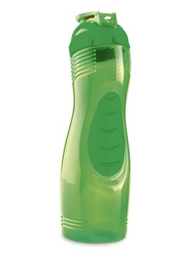 Botella Botilito En Pvc Curvy 525Ml Atoxico Tapa Plastica - Morado