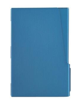 Estuche Porta Tarjetas En Aluminio Con Cierre A Presion - Azul
