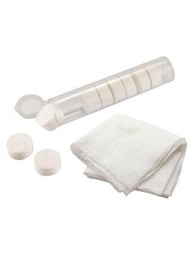 Set Estuche 10 Toallitas De Papel Comprimidas Multiusos - Blanco