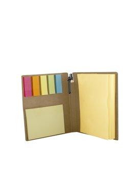 Set Memo Stickies De Colores Leader Eco - Natural