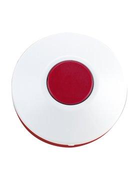 Pastillero Plastico Circular De Dos Funciones - Rojo