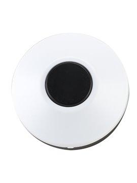 Pastillero Plastico Circular De Dos Funciones - Negro