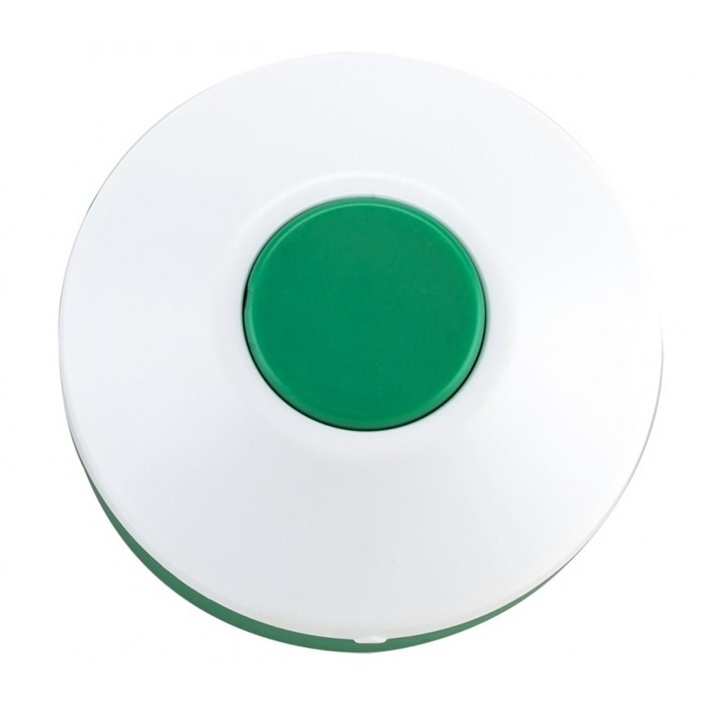 Pastillero Plastico Circular De Dos Funciones - Verde