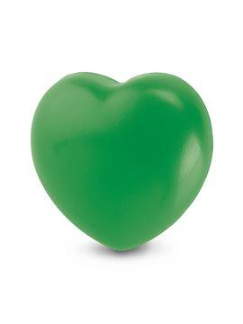Antiestres Con Forma De Corazon En Poliuretano - Verde