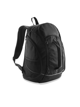 Maleta Morral Backpack Florida Poliester Malla Delantera - Negro