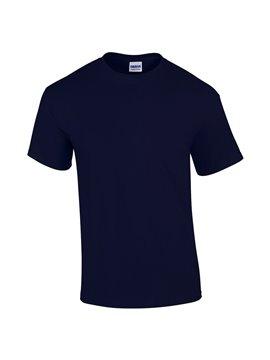 Gildan Camiseta Talla L T Shirt Adulto Cuello Redondo - Azul Marino