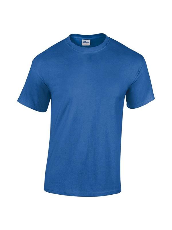 Gildan Camiseta Talla S T Shirt Adulto Cuello Redondo - Royal