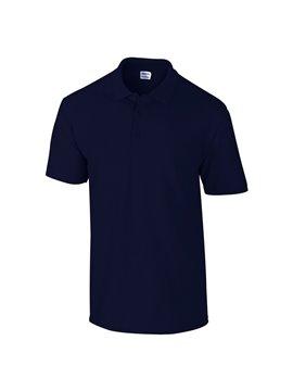 Gildan Camiseta Polo Adulto Talla L Poliester De 220 grs - Azul Marino