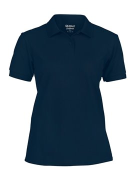 Gildan Camiseta Talla L Polo Adulto Dama Poliester de 220 gr - Azul Marino