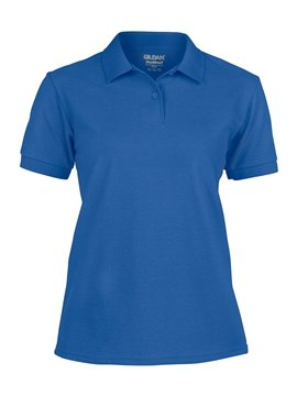 Gildan Camiseta Polo Adulto Dama Talla XL Poliester 220 gr - Royal