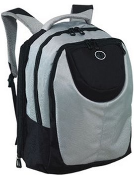 Maleta Morral Porta Laptop University - Gris/Negro