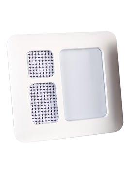 Reloj Digital Plastico Con Correas De Silicona Tucker - Blanco