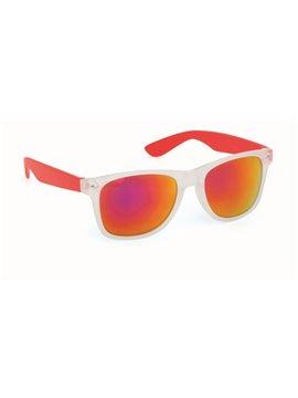 Gafas De Sol Harvey Proteccion UV 400 Lentes En Acrilico - Rojo