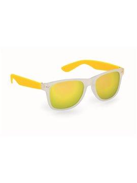 Gafas De Sol Harvey Proteccion UV 400 Lentes En Acrilico - Amarillo