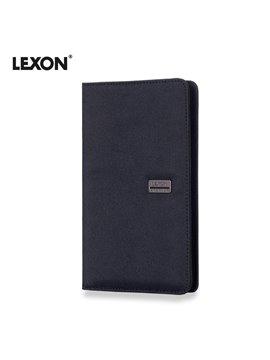 Portapasaporte Premium II Lexon En Microfibra - Gris