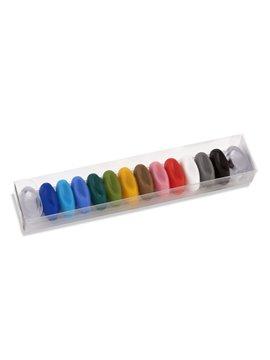 Set Identificador Plastico Kolors Para Copas o Vasos - Multicolor