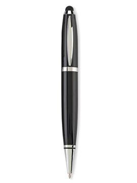 USB Memoria Esfero Boligrafo Metalico King 16GB - Negro