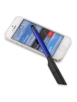 Esfero Boligrafo Tinta Negra USB Tri O Stylus 8 GB - Azul