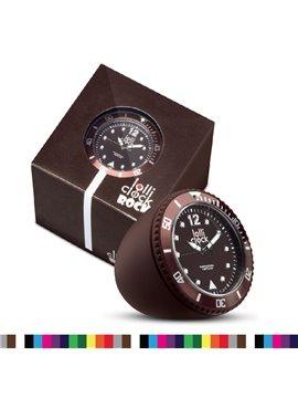 Reloj Lolli Rock Reloj de Mesa o Escritorio - Cafe