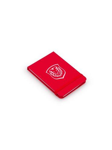 Libreta Bloc de Notas Rayado 80 Hojas Journal Tamaño A7 - Rojo