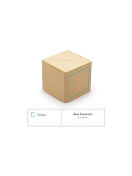 Set de Memos en Forma de Cubo Cube Espacio Para Tarjetas - Negro