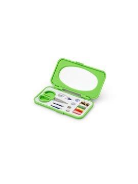 Mini Costurero Glib Con Accesorios y Espejo Elaborado en PS - Verde Limon