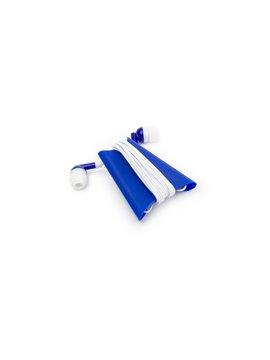 Audifonos Intrauditivos con Organizador Roller - Azul