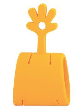 Convertidor de Cubiertos en Pinzas Cutterly Clipper Silicona - Naranja