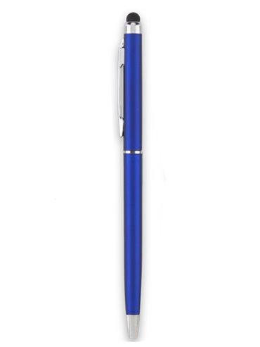 Esfero Boligrafo Balmax Aluminio Stylus Clip Metalico - Azul